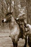 WW1世界大战美军士兵 库存图片