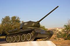 从WW2的老坦克 库存图片