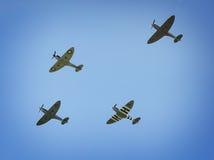 WW2空中的烈性人 免版税库存照片
