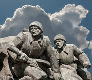 WW2纪念品在基辅 免版税图库摄影