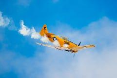 WW2美国空军飞行 库存照片