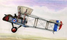 WW1 Airco DH2 illustration libre de droits