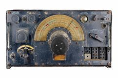 Ww2 aircraft radio receiver Stock Photo
