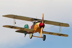 WW1 Albatross DV replica scout airframe Royalty Free Stock Images