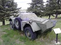 WW2 armored vehicle Royalty Free Stock Photos