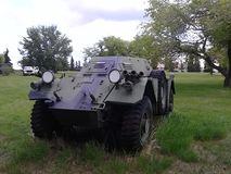 WW2 armored vehicle Stock Photography