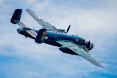 WW2 B-25 bombowiec Zdjęcia Royalty Free