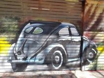 Free Ww Beatle Car Street Art Stock Image - 148661131