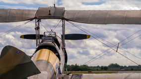 WW1 Biplane Royalty Free Stock Photos