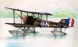 WW1 Blackburn behandla som ett barn Arkivfoton
