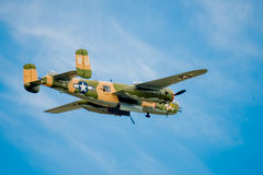 WW2 Bomber Royalty Free Stock Photography