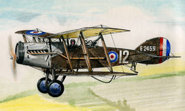 WW1 Bristol F2B Royalty Free Stock Images