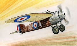 WW1 Bristol MC1 Stock Photo