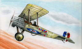 WW1 Bristol Scout Stock Photos