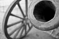 WW2 cannon royalty free stock photography