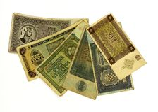 WW2 Croatian paper money kuna Royalty Free Stock Image