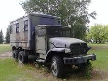 WW2 de vrachtwagen van het gevangenisvervoer Stock Afbeeldingen