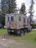 WW2 de vrachtwagen van het gevangenisvervoer Royalty-vrije Stock Afbeeldingen