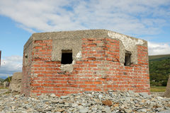 WW11 defence bunker. Royalty Free Stock Images