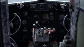 WW2 Douglas Dakota IV C-47B cockpit footage recorded in 4K.