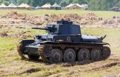 WW2 Duitse Panzer 38 (t) lichte tank royalty-vrije stock afbeeldingen