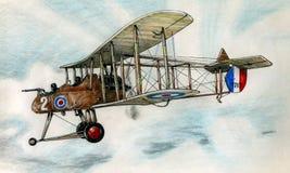 WW1 FE2b illustration libre de droits