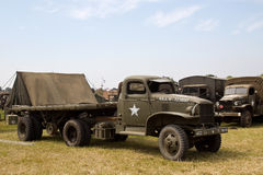 WW2 flatbed truck Royalty Free Stock Image