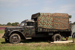 WW2 German service truck Royalty Free Stock Photos