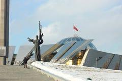 WW2 geschiedenismuseum in Minsk Stock Foto's