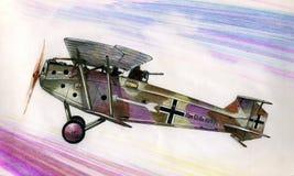 WW1 Hannover CLIIIa Arkivbild