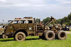 WW2 heavy recovery vehicle Royalty Free Stock Photo
