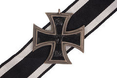 WW1 het Duitse Kruis van het medailleijzer Royalty-vrije Stock Foto