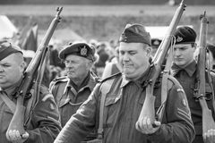 WW2 Home Guard Royalty Free Stock Images
