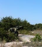 WW II大炮 图库摄影