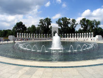 WW II Atlantic Fountains. World War II Atlantic Campaign Monument With Fountains Royalty Free Stock Images