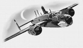 WW II Britian Plane Royalty Free Stock Photos