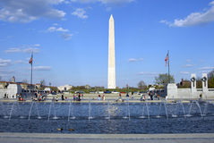 WW II Fountain Royalty Free Stock Photo
