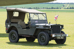 WW2 Jeep Stock Image