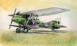 WW1 Junkers J1 Royalty Free Stock Photography