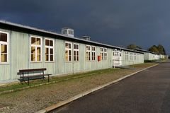 WW2 koncentrationsläger Mauthausen Royaltyfri Fotografi