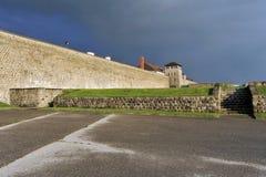 WW2 koncentrationsläger Mauthausen Arkivfoton