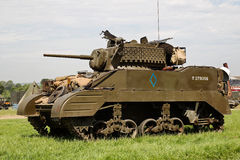 WW2 Lee tank Stock Images