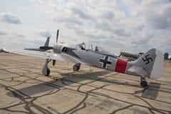 WW ll Focke-Wulf 190个A8 Repilica 免版税库存照片