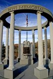 WW1 Memorial at Cedar City Utah. The World War 1 memorial at Cedar City, Urah Stock Photos