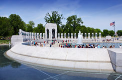 WW2 Memorial Stock Photo