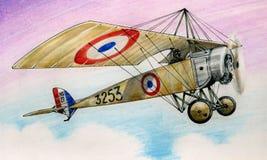 WW1 Morane Saulner L Stock Photos