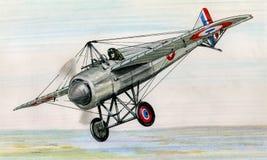 WW1 Morane Saulner N illustration de vecteur