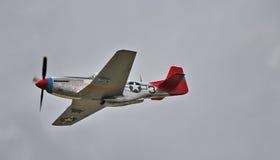 WW2 mustang américain de l'ère P-51 Photographie stock