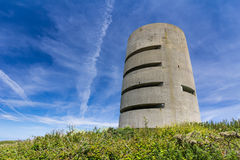 WW2 observation tower Stock Photos