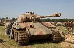 WW2 Panther tank Royalty Free Stock Photo